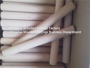 Other Furniture Part Type and Solid Wood Wood Style wooden dowel rods
