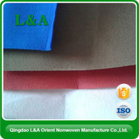 2015 Anti-Crease Non Woven Diy Polyester Felt