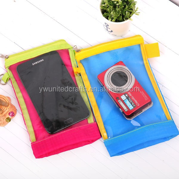 Double Seal PVC Cell Phone Waterproof Case Bag