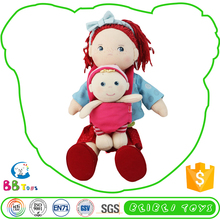 New Styel Stuffed Animals Red Hair Little Doll