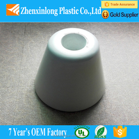 round shaped vacuum formed plastic light cover