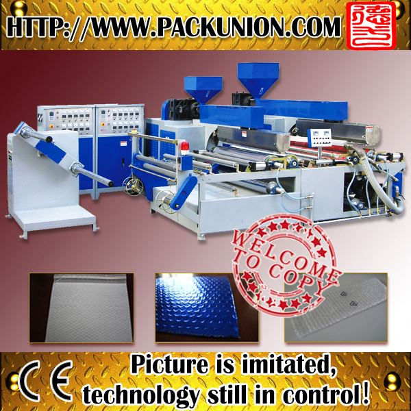 plastic air bubble film extrusion machine high speed making machine
