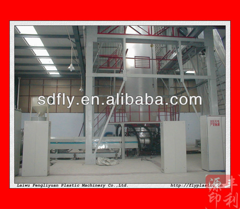 Film Extrusion Line/Blown Film Plastic Extrusion Machines with video