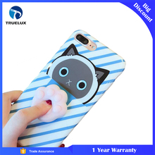 Fast Shipping Professional Mobile Phone Case TPU for iPhone 7, TPU 3D Cat Claw Doll for iPhone 7