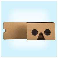 google cardboard 2.0 virtual reality google vr box 3d video glasses for side by side videos