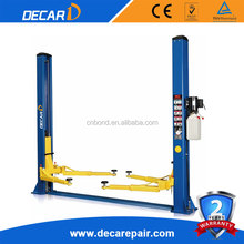receiving 150% static testing car lift outdoor