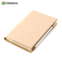 Genuine Leather Book Wrapper Notebook Cover Notepad Vintage Unisex Natural Journal cover