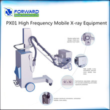 portable X-Ray equipment Machine with low dose x ray illuminators