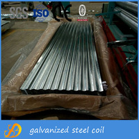 building material corrugated galvanized steel sheet with price
