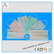 Medical Materials & Accessories Properties and Surgical Supplies Type 3 Ply Disposable Non-woven Medical Face Mask