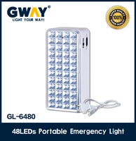 electric emergency lantern 48pcs rechargeable lighting