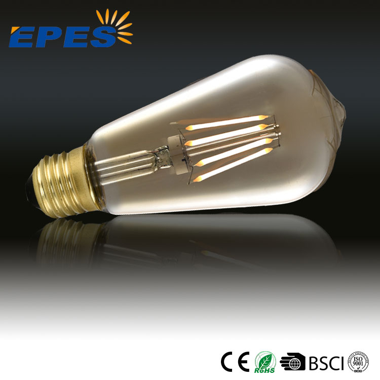 High Tech Global Group Co Ltd 4000K Dimmable Vintage Led Filament Edison Bulb