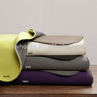 Premier Comfort Reversible Micro Fleece Blanket Factory China