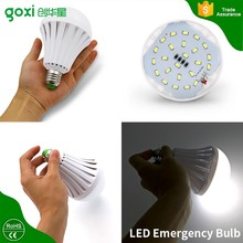 2017 Factory Price High Quality 12w Rechargeable Led Emergency Magic light Bulb with E27 B22 Socket