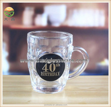 18 oz Heavy Beer glass mugs with handle