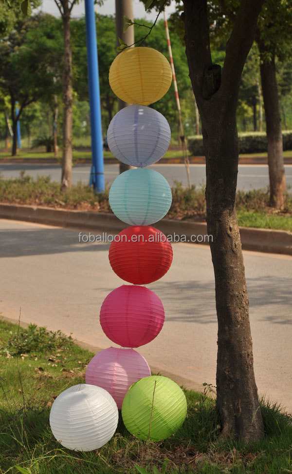 6/8/10/12 Inch Wholesale Cheap Paper Lanterns Chinese Round Lanterns Wedding Paper lanterns