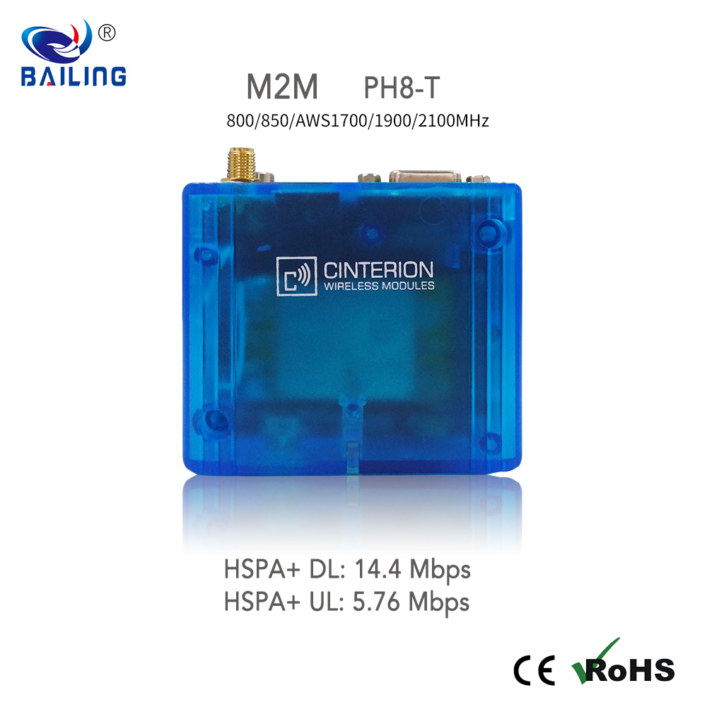 GSM gateway send and receive sms online 3G modem Cinterion PH8 indusrial 3G modem
