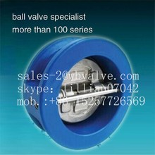 GGG40 Dual-disc Water Check Valve astm a216 wcb
