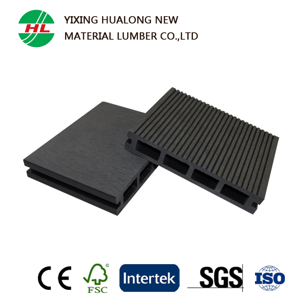 140x25 High Quality Cheap Wood Plastic Composite Decking for Outdoor
