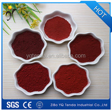 Iron oxide red for bricks