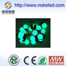 best selling shenzhen cheap price remote control changable color waterproof round bulb Christmas light