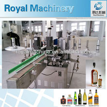 vertical round bottle positioning labeling machine