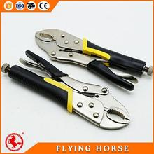 Modern professional heavy duty combination plier with spring