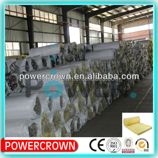 High density blanket glass wool thermal insulation/ Non Asbestos Glass Wool Thermal Insulation/glass rubber wool