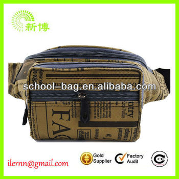 High Quality Sports Canvas Multifunctional Waist Bag