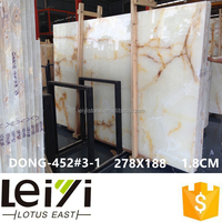 Cut-to-size Tile White Onyx For Interior Floor