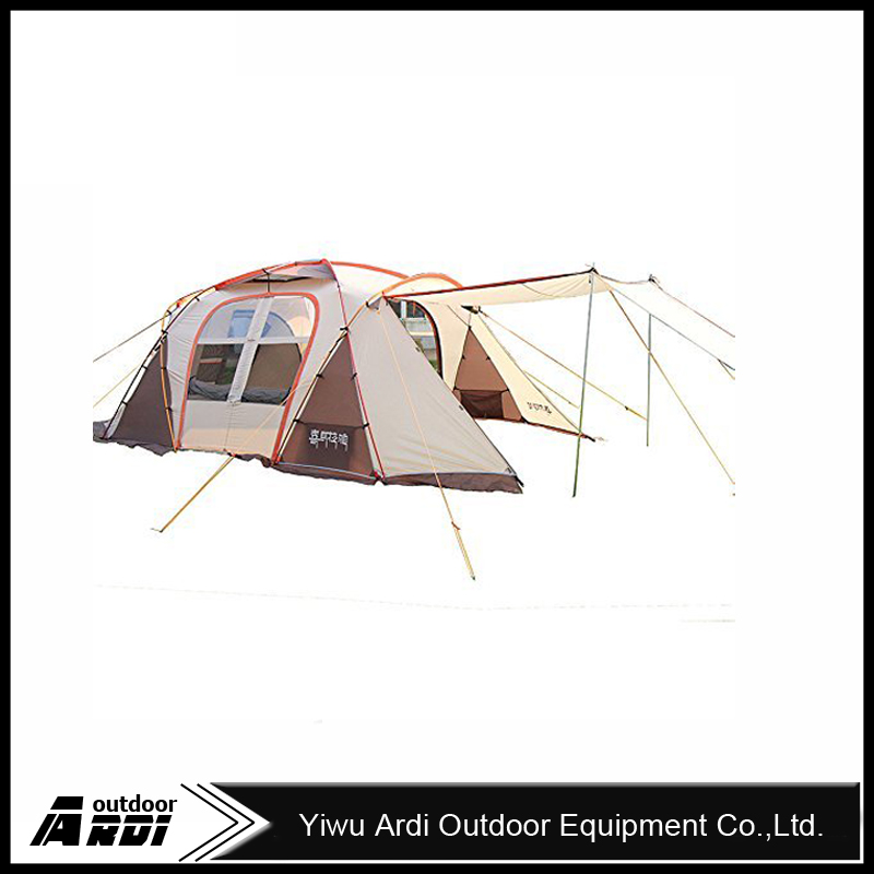 Family Camping Tent 8 Persons Multiplayer Oversized Outdoor Travelling by car Waterproof Ripstop Hiking Tent Trekking