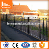 Ornamental tubular fence/garrison fence/used wrought iron fencing for sale