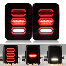 reverse jeep tail light for jk with Running Brake Backup lamp