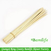 Top quality creative healthy bamboo skewers for kids