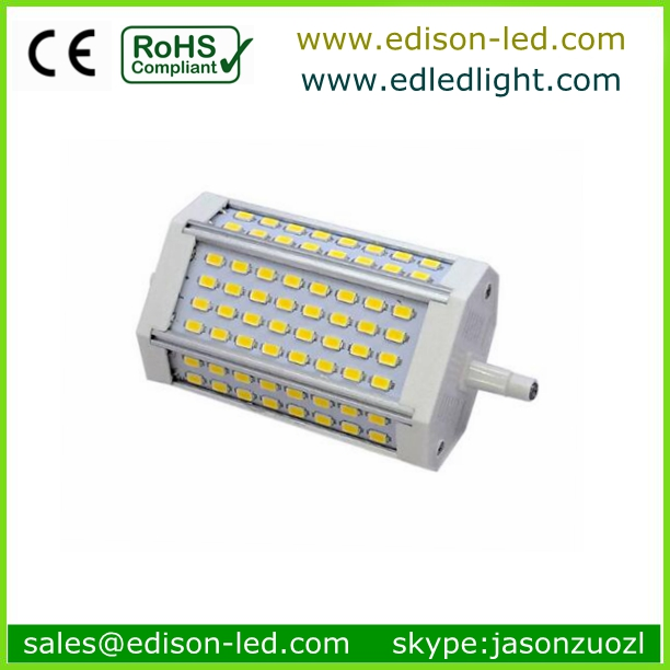 samsung 5630 led 118mm r7s lamp base type 1300lm cri80 with 3 years warranty