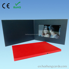 Advertising equipment tft screen lcd video greeting card