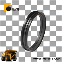 Fuyote manufacture TEREX15247216 floating seal, using for TEREX 60t mine car brakes high Corrosion Resistance metal face seal