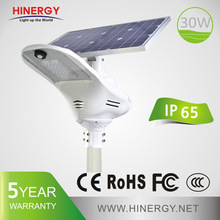 Dc12v Or 24v 30w 40w 50w 60w Solar Power 30 Watt Led Street Light