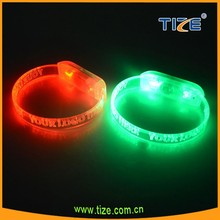 2016 best party led bracelet wristband with name wristband accessories