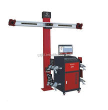 Wheel adjusting 3d car wheel aligner for wheel balancing and alignment equipment
