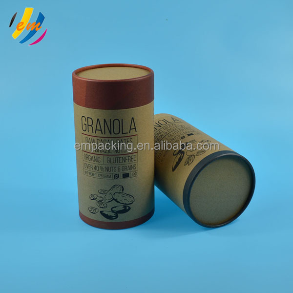 High quality food grade linner brown paper craft <strong>tube</strong>