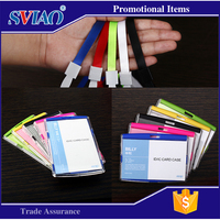 Big and small szie plastic cute ticket holder for school student