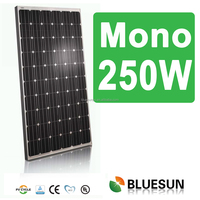 100% inspection Mono 250W solar panels in pakistan karachi with CE/TUV/UL