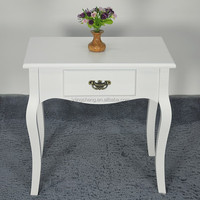 Living room furniture beauty white MDF modern coffee table for exporting