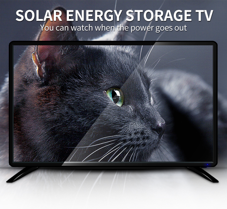 "32"" Battery Operated LED TV  All in one Solar TV"