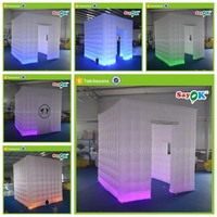 cheap photo booth used inflatable sticker photo booth enclosure prices for sale