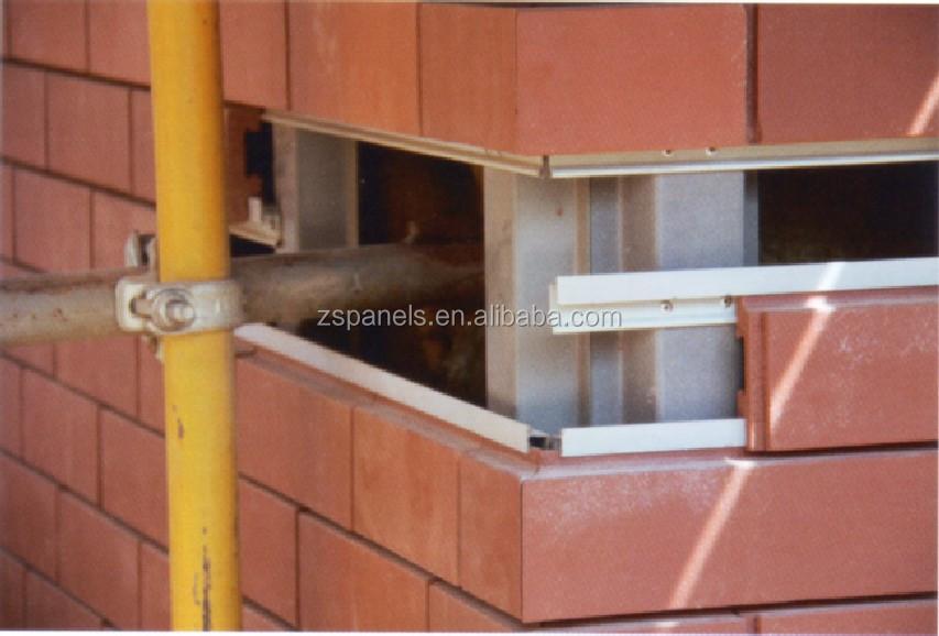 Latest Facade Clinker Wall Tiles Terracotta Clinker Brick For Exterior Wall Cladding System