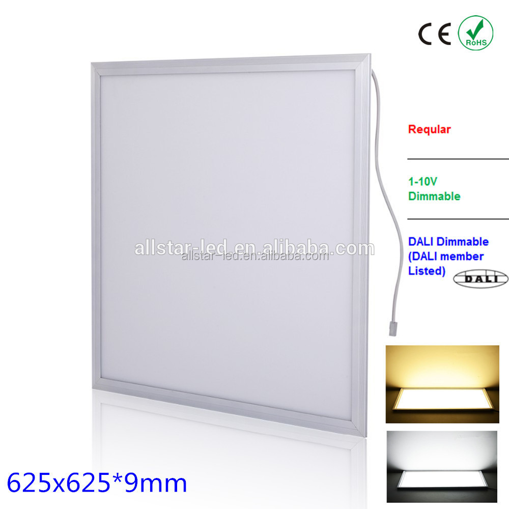 North America market 36w 48w 54w square led light panel 600x600 for office meeting room
