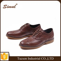 Men Business Dress Formal Leather Shoes Flat Oxfords Loafers Lace up pointy toe shoes