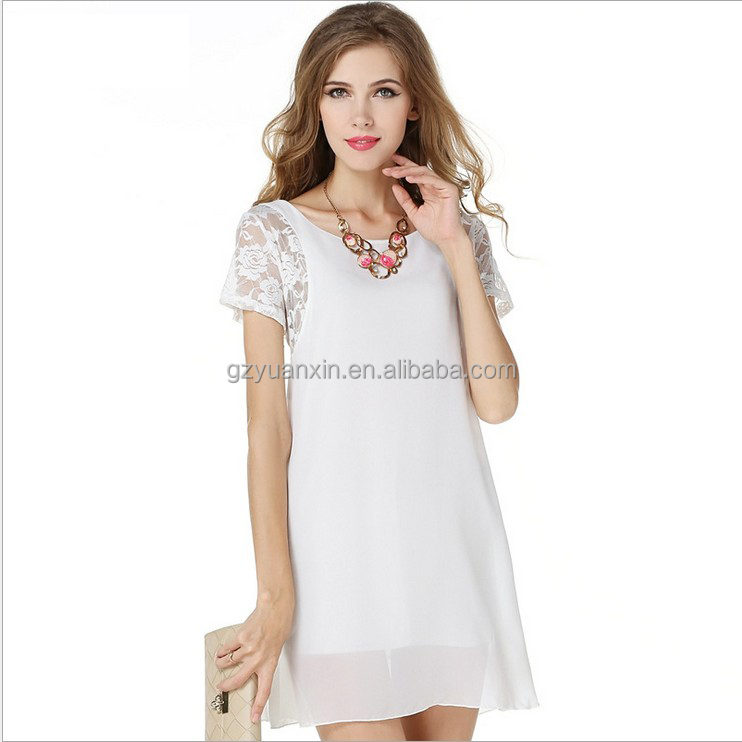 Alibaba wholesale indian new fashion ladies short frock dress in lace chiffon umbrella dresses for women